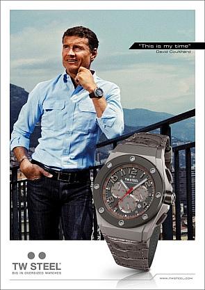David Coulthard - TW Steel (2011)