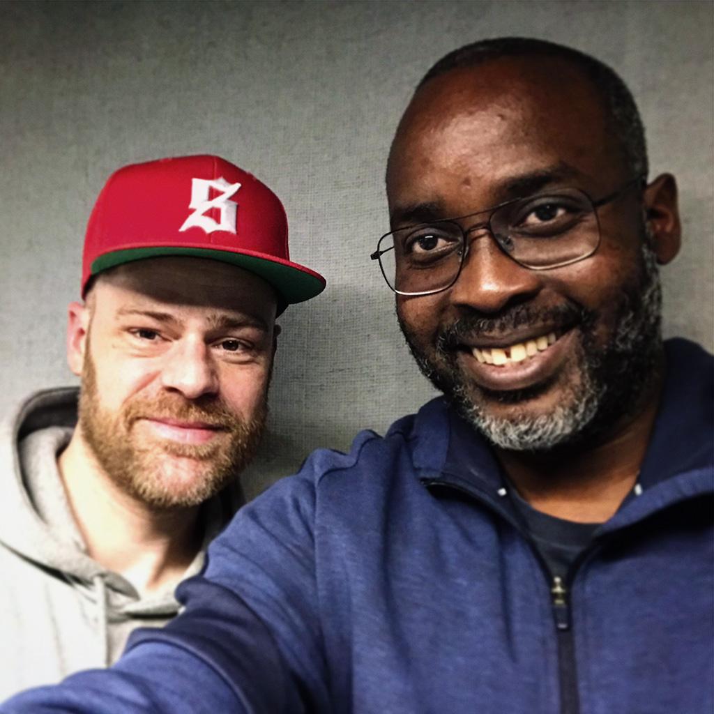 Ilja en Andrew Makkinga 2019